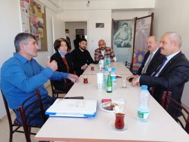 EMEP Gebze'yi ziyaret eden Başkan Büyükgöz'e kapsamlı Gebze Dosyası sunuldu