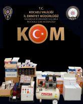 Kocaeli 'de 4 ilçede kaçak tütün mamulleri ele geçirildi