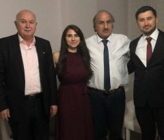 Fatma ve Tolga'nın mutlu günü : Nişan yüzüklerini Milletvekili Türkkan takacak