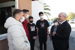 Başkan Büyükgöz'den gençlere tam destek