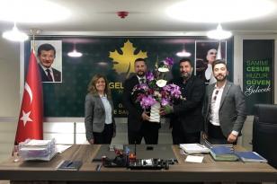 Gelecek Gebze'de İlçe Başkanı Alican Karakaya