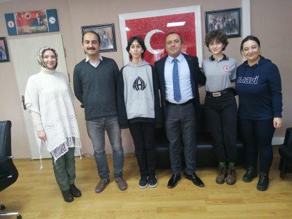 Türkiye ve Kocaeli Şampiyonu Anibal Anadolu Lisesi'nden